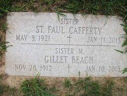 Sr M. St. Paul Cafferty, IHM
