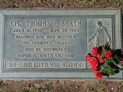 Corp Thomas Fredrick Tom Barth