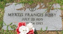 Myrtis Francis Bibby