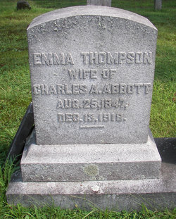Emma <i>Thompson</i> Abbott