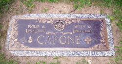 Elizabeth M. Betty <i>Panzella</i> Capone