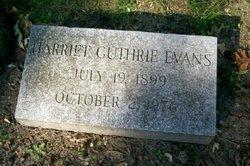 Harriet Seymour <i>Guthrie</i> Evans