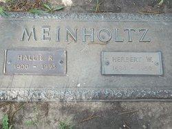 Herbert W Meinholtz