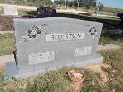 Waymon H. Robertson