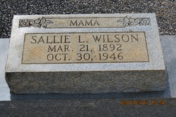 Sallie Lou <i>Bass</i> Wilson