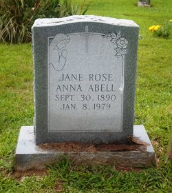 Jane Rose Anna Abell