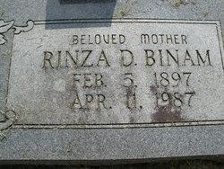Lorinza Dow Rinza <i>Slape</i> Binam