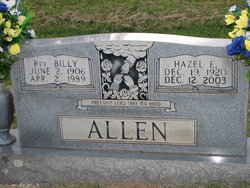 Rev Billy Allen