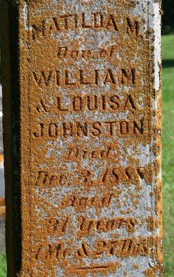 Matilda M. Johnston
