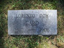 Lorenzo Dow Card