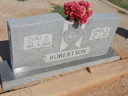 Lowell Edward Red Robertson