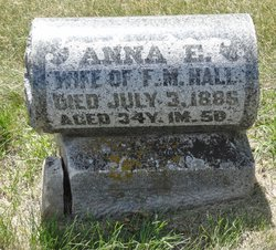 Anna E. <i>French</i> Hall