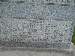 PVT 1CL Paul Harrison Barber