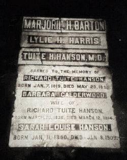 Richard Tuite Hanson