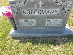 Anna J <i>Struemph</i> Boeckmann