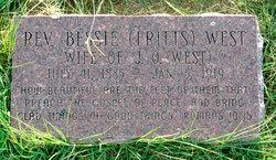 Bessie Fritts West