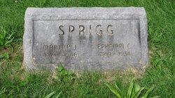 Ephraim C Sprigg