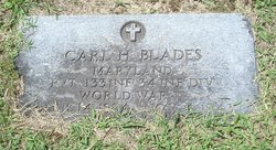 Pvt Carl H Blades