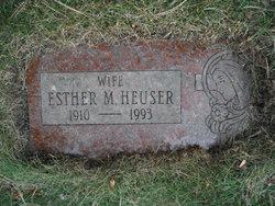 Esther M. Heuser