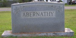 Susan Anna <i>Winstead</i> Abernathy