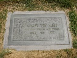 Wesley Byron W B McBee, Jr