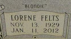 Lorene Blondie <i>Felts</i> Barton