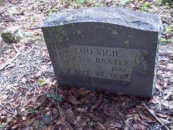 Lou Vicie <i>Olive</i> Baxter
