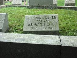 Mildred Edith <i>Tucker</i> Blair
