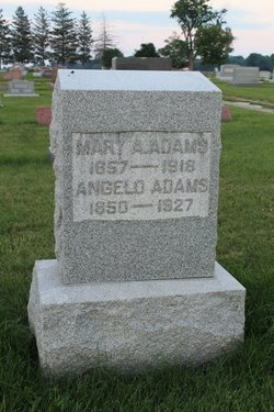 Mary Ann <i>Ater</i> Adams
