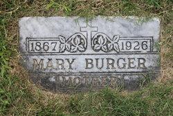 Mary K <i>Metzner</i> Burger