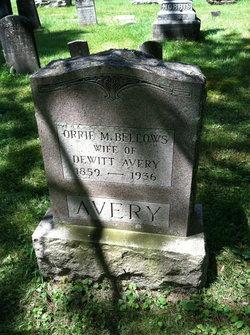 Orrie M <i>Bellows</i> Avery