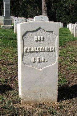 Pvt William C Alexander