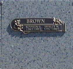 Shirley Marie <i>Gurule</i> Brown
