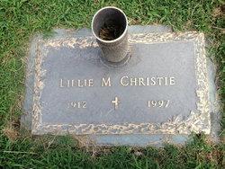 Lillie Rebecca <i>McAdams</i> Christie
