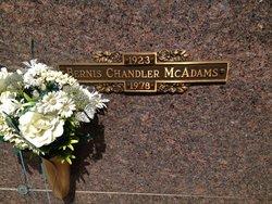 Bernis Chandler McAdams, Sr