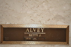 Betty Jo <i>Ennis</i> Alvey