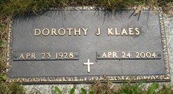 Dorothy J Klaes