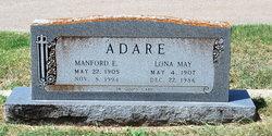 Lona May <i>Gibson</i> Adare