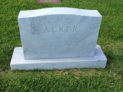 Jessie O. <i>Morriss</i> Acker