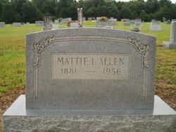 Mattie L. Allen