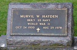 Murvil W. Hayden