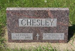 Bertha <i>Balding</i> Chesley