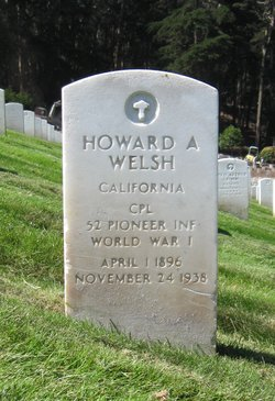 Howard A Welsh