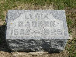 Lydia S <i>Cochran</i> Barker