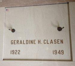 Geraldine <i>Hannan</i> Clasen