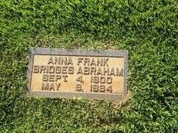 Anna Frank <i>Bridges</i> Abraham