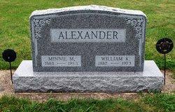 Minnie May <i>Strope</i> Alexander