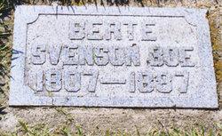 Bertie/Birthe Pederstdatter <i>Baskenne</i> Boe