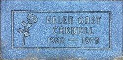 Helen <i>Gast</i> Cadwell
