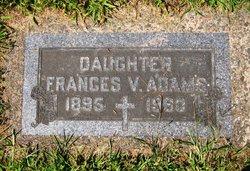 Frances V Adams